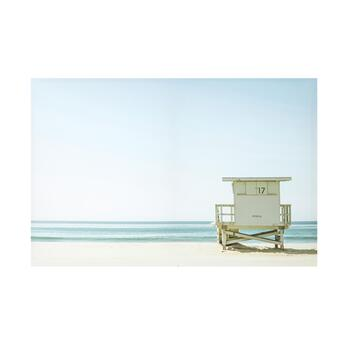 "24""x36"" Beach Shack Photograph Canvas Wall Art"
