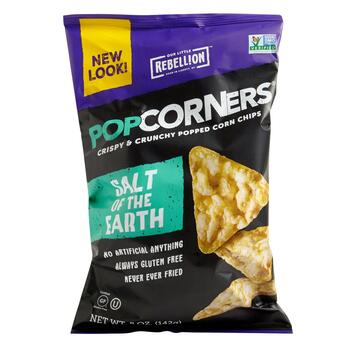 Pop Corners® Lightly Salted Corn Chips, 12 Bags