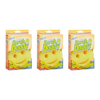 "4"" Scrub Daddy® Sponge Pads, Set of 3"
