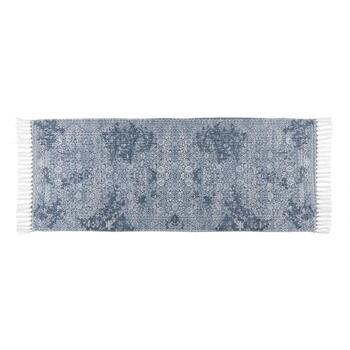 "The Grainhouse™ 27""x45"" Blue Floral Chenille Area Rug view 2"