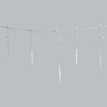 60ct Led Twnkl Icicle Set