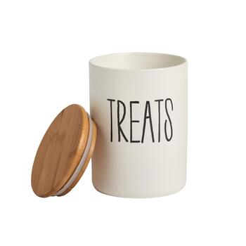 "6"" ""Treats"" Storage Jar"