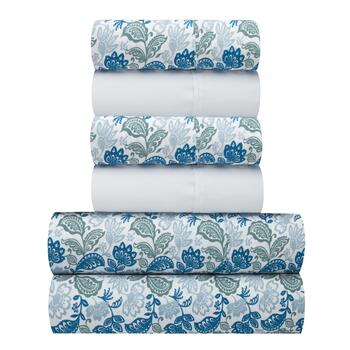 Paisley Pattern Microfiber Sheet Set