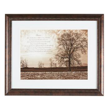 "20""x24"" Life ""Choices"" Tree Framed Wall Decor"