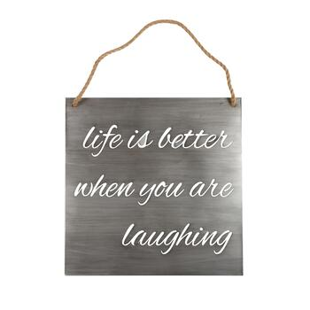 "The Grainhouse™ 20"" ""Life is Better"" Wall Sign"