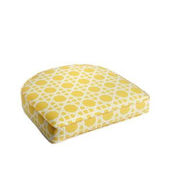 Yellow Cane Indoor/Outdoor Gusseted Seat Pad