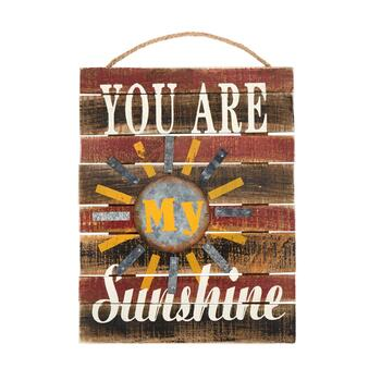 "12""x16"" Harvest ""You Are Sunshine"" Farmhouse Sign"