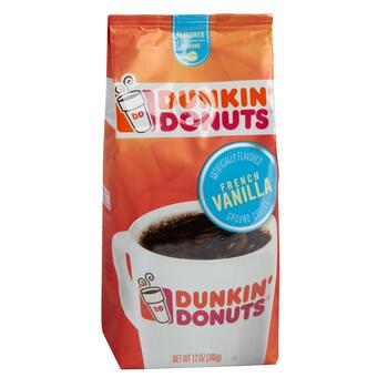 Dunkin Donuts® French Vanilla Coffee, 6 Bags - Christmas ...