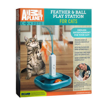 Animal Planet™ Feather & Ball Play Station For Cats view 1