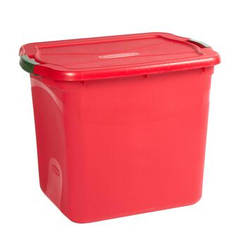 Rubbermaid 21 Gallon Christmas Storage Container Christmas Tree