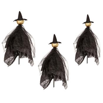 "43"" LED Witch Stakes, Set of 3"
