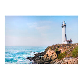 "24""x36"" Coastal Lighthouse Canvas Wall Art view 1"
