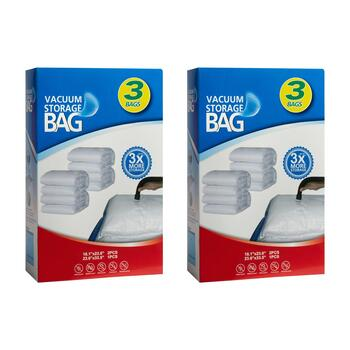 3-Piece Vacuum Storage Bag, Set of 2