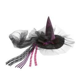 Black/Purple Witch's Hat