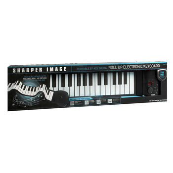Sharper Image® Roll-Up Electronic Keyboard view 1