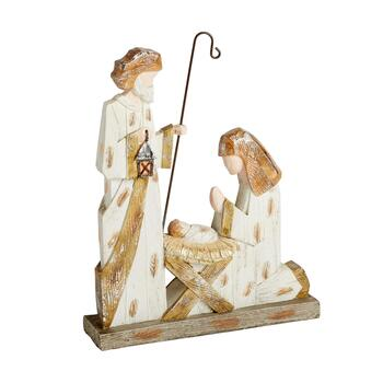 "13"" Trio Nativity Scene Decor"