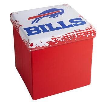 NFL Buffalo Bills Logo Storage Ottoman