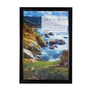 Wide Black Wall Hanging Photo Frame