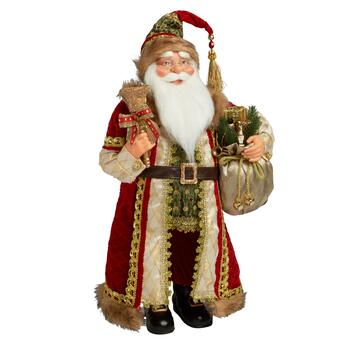"24"" Santa with Bells and Gifts"