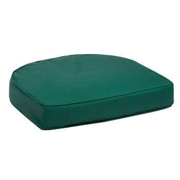 Solid Hunter Green Indoor/Outdoor Gusset Seat Pad