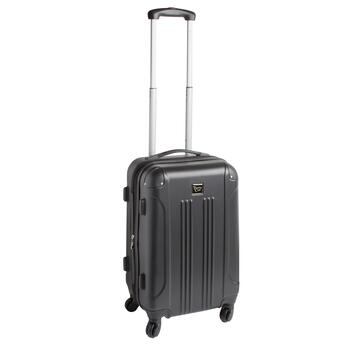 "20"" Travelers Club® Expandable Hardside Rolling Suitcase"