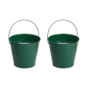 32-Oz. Citronella Solid Bucket Candles, Set of 2