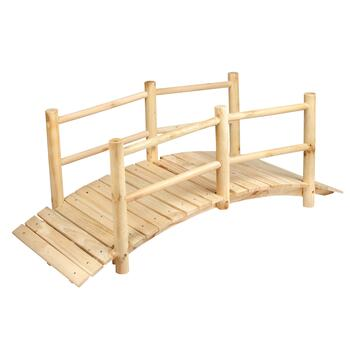 Wooden Crossing Bridge