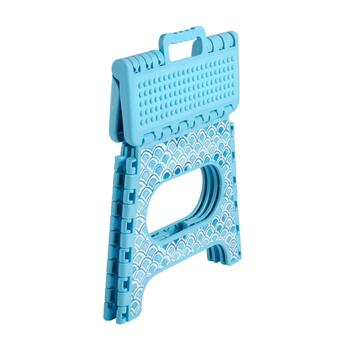 Turquoise Scale Step Stool view 2
