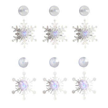 S6 Led Acrylic Snowflake view 1