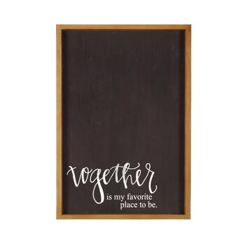 "The Grainhouse™ 19""x27"" ""Together"" Framed Wall Decor"