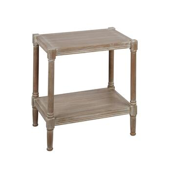 "22.75"" Antique Side Table"