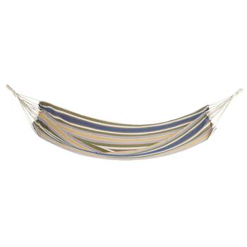 Tan/Blue Stripes Hammock in a Bag