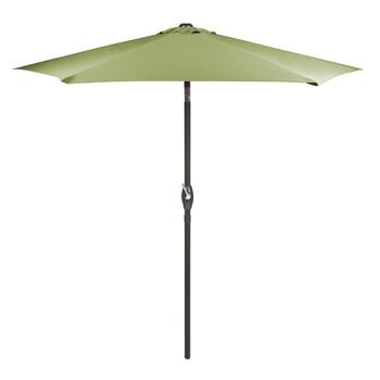 7.5' Lime Crank/Tilt Market Patio Umbrella