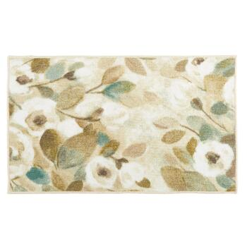 Mohawk Home White Flowers Printed Accent Rug