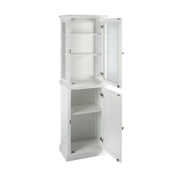 "68.25"" White Scarsdale Cabinet view 2"