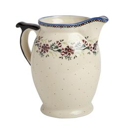 90-oz. Watercolor Ceramic Pitcher