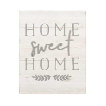 "16""x20"" ""Home Sweet Home"" Wood Box Wall Decor view 1"