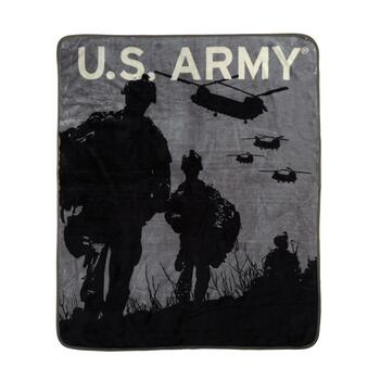 "50""x60"" US Army Military Throw Blanket"