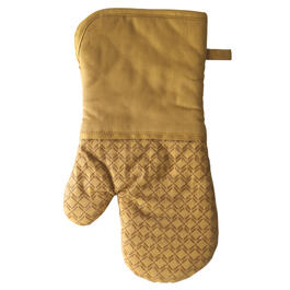 Yellow Silicone Oven Mitt view 1