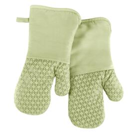 Kiwi Silicone Oven Mitts, Set of 2