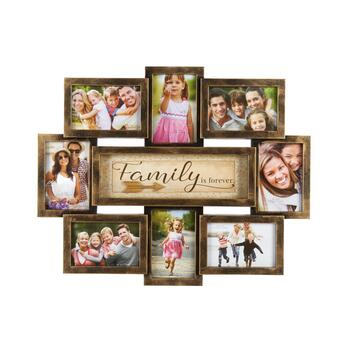 "15.5""x22"" ""You & Me"" 8-Opening Photo Frame Wall Collage"