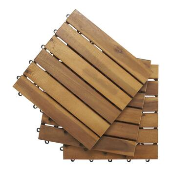 ACACIA WOOD FLOORING 10PK view 1