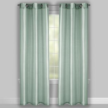 "84"" Fancy Grommet Window Curtains, Set of 2 view 2"