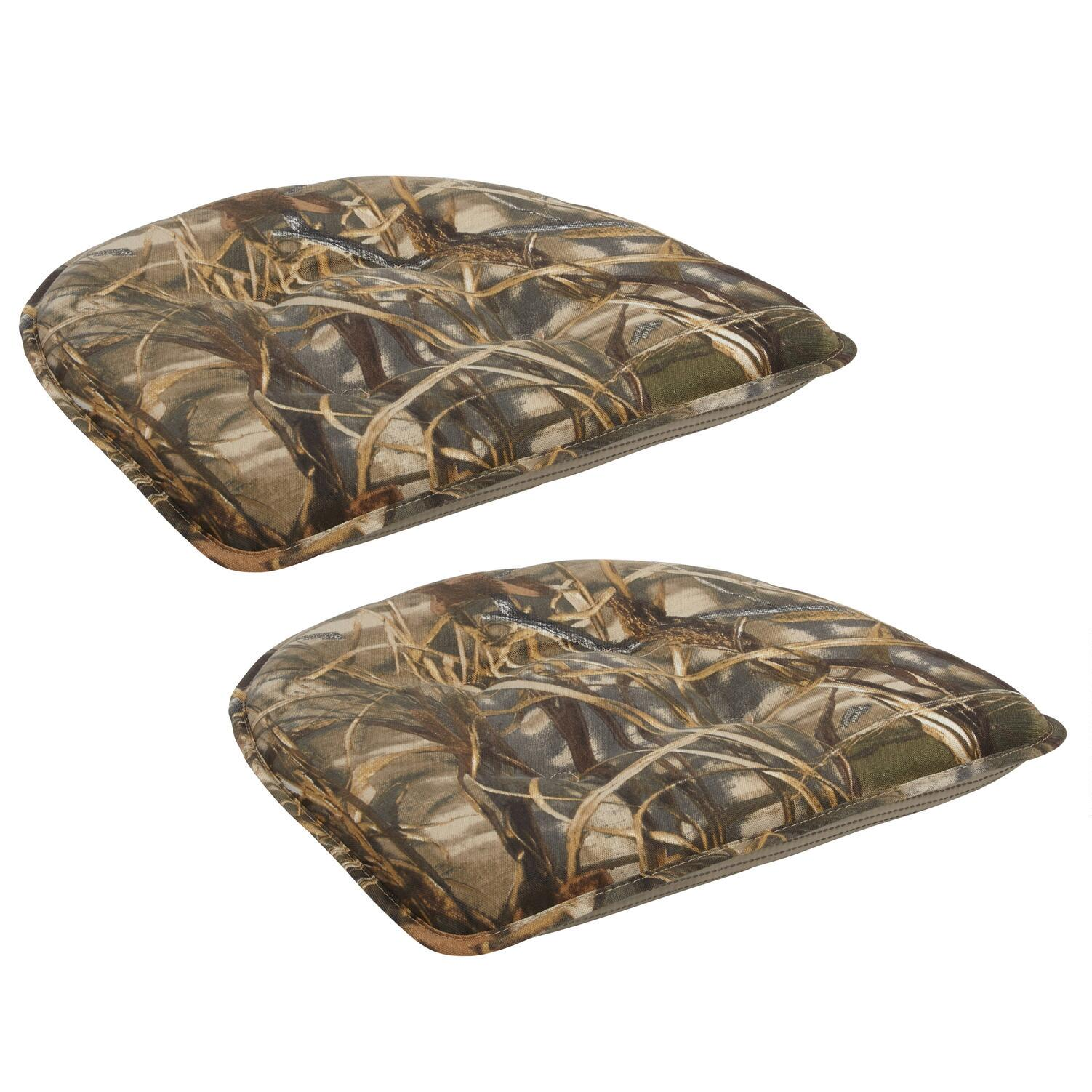 Forest Trees Non Slip Chair Pads, Set Of 2