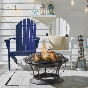 Fire Pit and Garden Decor