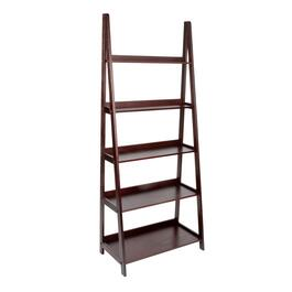 Wooden 5-Tier Ladder Bookcase