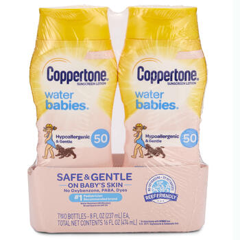 Coppertone® Water Babies SPF 50 2-Pack view 1