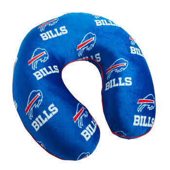 NFL Buffalo Bills Memory Foam Neck Pillow view 1