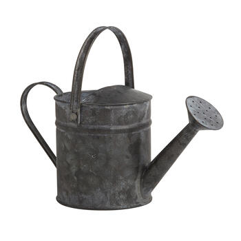 "5"" Galvanized Metal Chalkboard Watering Can view 1"