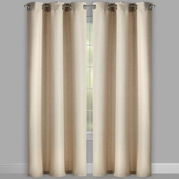 "Pandra 84"" Solid Grommet Window Curtains, Set of 2 view 2"